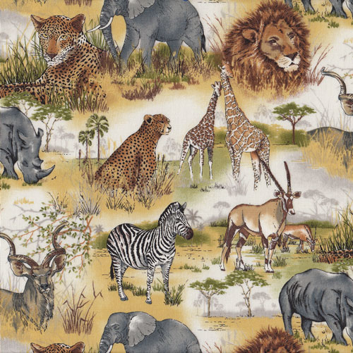 Wildlife Animals Fabric category