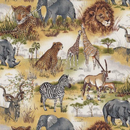 Wildlife Animals Fabric category