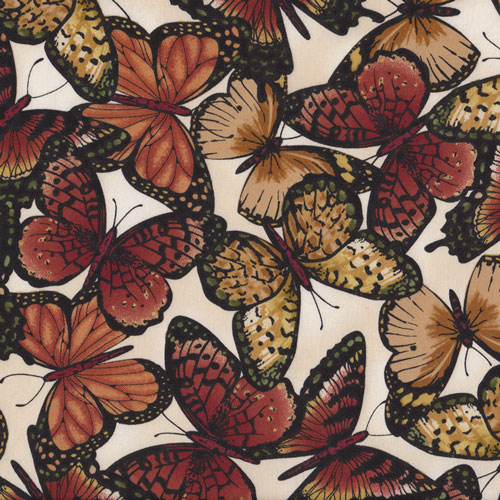 Butterflies Fabric