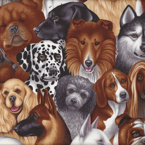 Dogs Fabric category