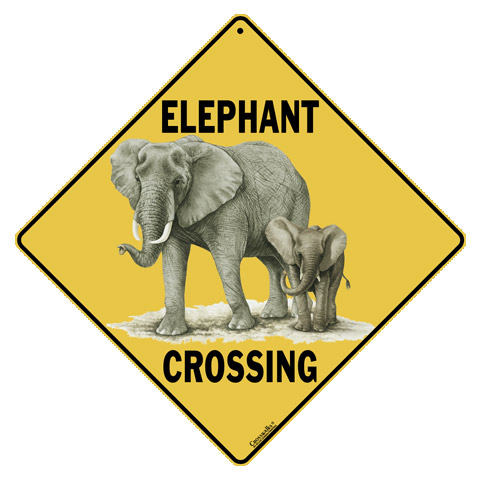 Animal Road Signs category