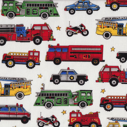 Fire Engines etc Fabric category