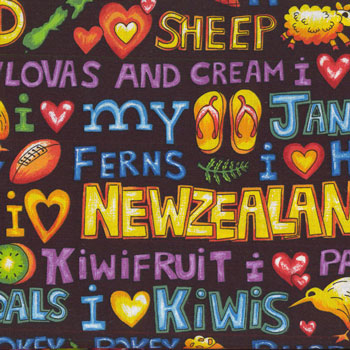 New Zealand NZ Fabric category