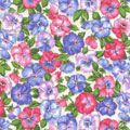 Pansies Fabric category