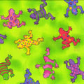 Frogs Lizards Etc Fabric category