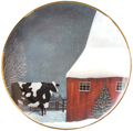 Franklin Mint Herrero Cow Plates category