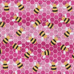 Bumblebees Fabric