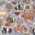 Teresa Kogut Farm Animals Fabric category