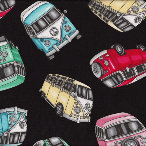 Cars Kombi Vans Fabric category
