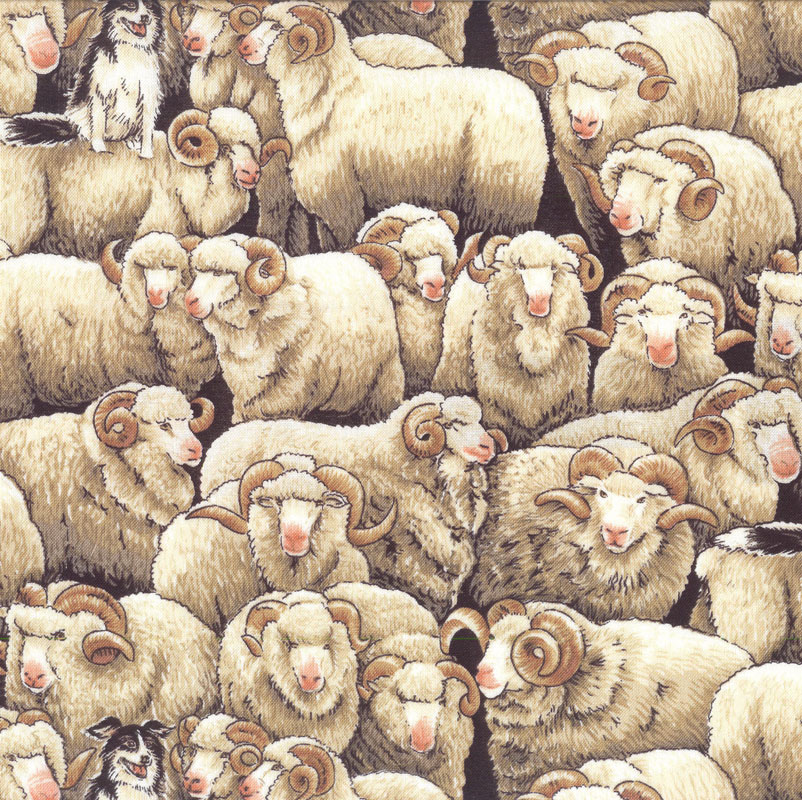 Farm Animals Fabric category