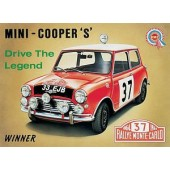 Classic English Car Tin Signs category