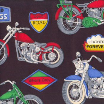 Motorbikes Motorcycles Fabric category