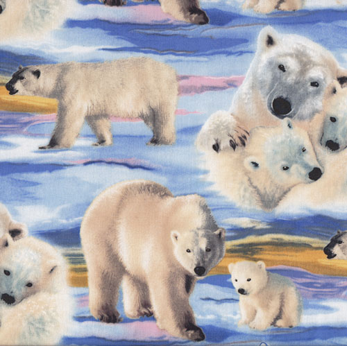 Penguins & Polar Bears Fabric category