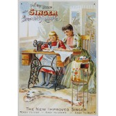 Singer Sewing Machine Tin Signs category