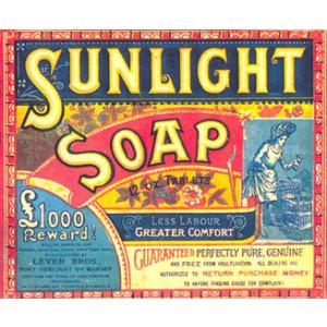 Sunlight Soap Postcard