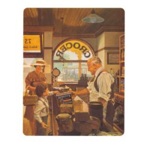 Arnotts Grocer Store Nostalgic Postcard