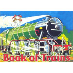 Book of Trains Nostalgic Postcard