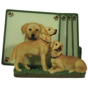 Labrador Dog Set of 4 Coasters