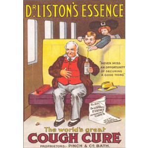 Dr Listons Essence Nostalgic Postcard