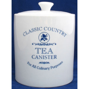 Classic Country Ceramic Tea Canister