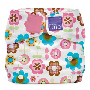 All In One Reusable Nappy by Bambino Mio Solo Rosie Posie