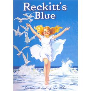 Reckitts Blue Nostalgic Postcard