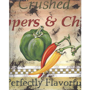 Capsicum Peppers Chilli Kitchen 8 x 10 Print