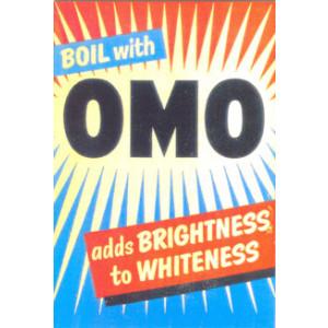 Omo Washing Powder Postcard