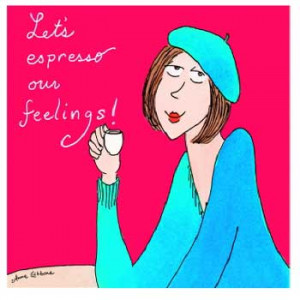 Lets Espresso Our Feelings! Eyeglasses Cleaning Cloth