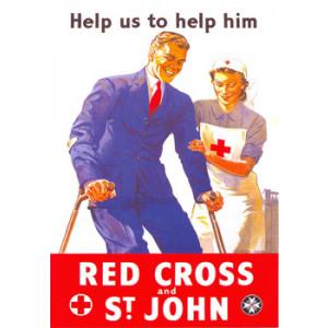 Red Cross and St John Postcard