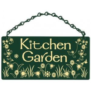 Kitchen Garden Home & Garden Sign