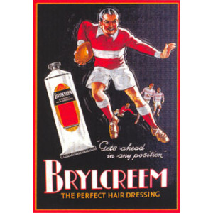 Brylcreem Hair Dressing Nostalgic Postcard