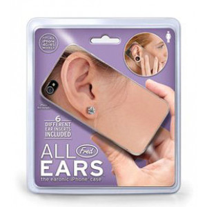 All Ears Womens Mobile iPhone Cover Fits 4G 4S