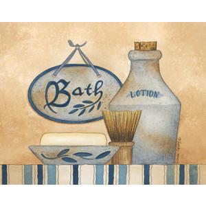 Bath Lotion Soap 8 x 10 Print