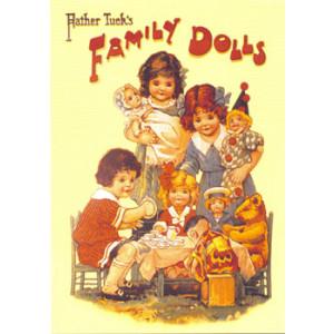 Father Tucks Family Dolls Postcard