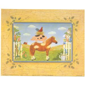 Barn Yard Animal Stack 8 x 10 Print