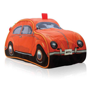 VW Volkswagen Beetle Orange Toiletry Bag