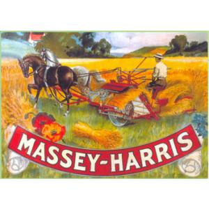 Massey Harris Nostalgic Postcard