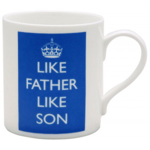 Like Father Like Son Ceramic Tea Coffee Cup Mug