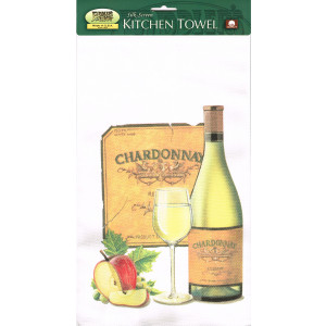 Chardonnay Tea Towel