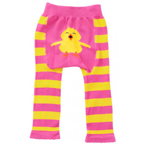 Chick Design Baby Tippy Toes Footless Tights