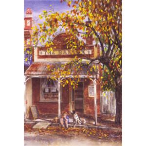 Gordon Hanley Bakery Postcard