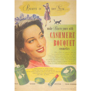 Cashmere Bouquet Cosmetics Nostalgic Postcard