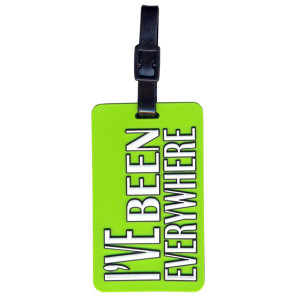 I've Been Everywhere Suitcase Bag Luggage Tag