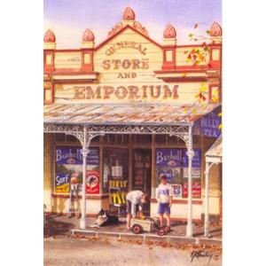 Gordon Hanley Store & Emporium Post Card
