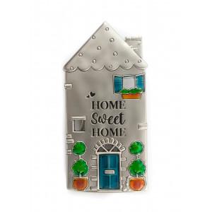 Home Sweet Home Pewter Fridge Magnet