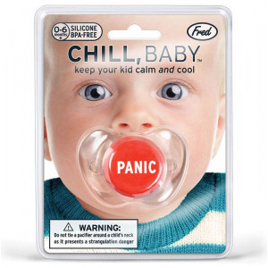 Chill Baby Pacifier Dummy With Panic Button