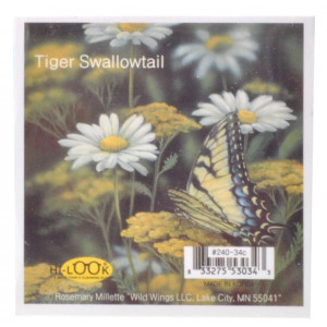 Tiger Swallowtail Butterfly Microfiber Glasses Cleaning Cloth