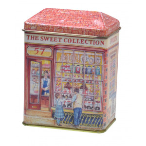 Small Decorative Tin Collectable Storage Sweets Lollie Shop