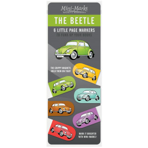 VW Beetle Mini Magnetic Bookmarks
